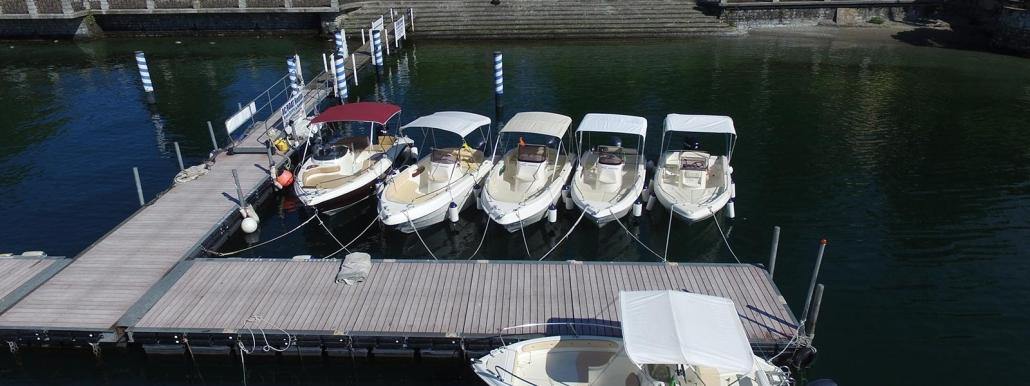 pontile noleggio barche menaggio
