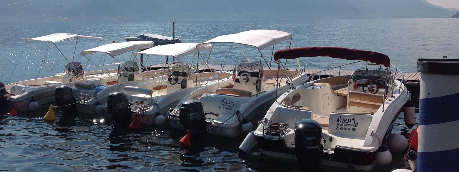 pontile noleggio barche
